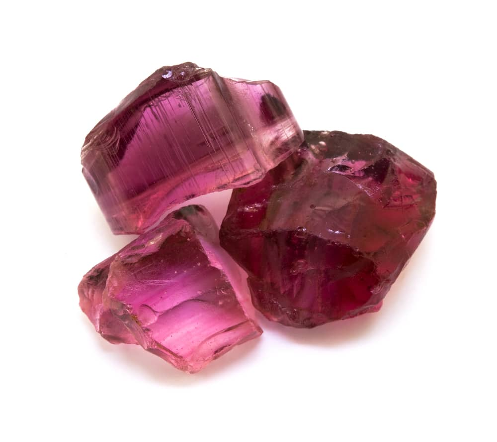 ruby rough stone
